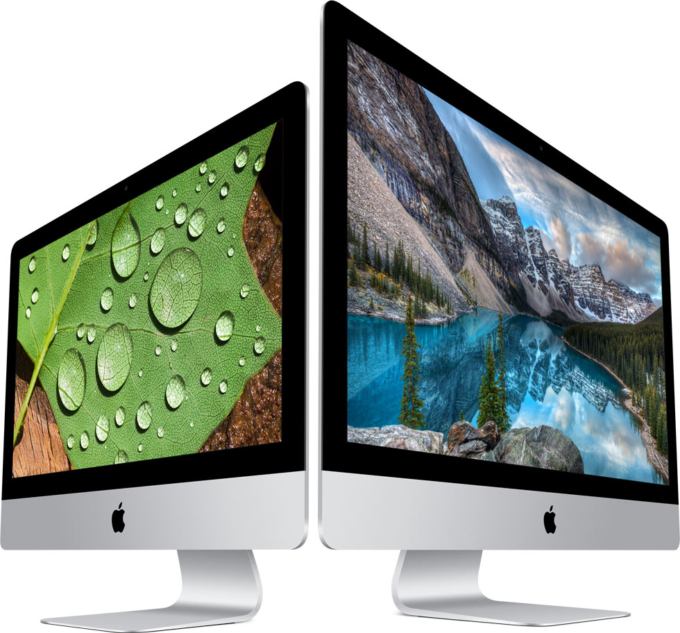 Apple's New Retina iMacs