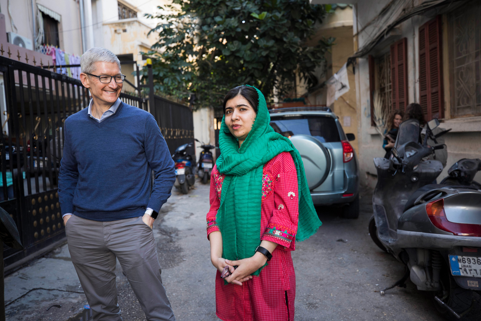 Apple Partners with Malala Fund