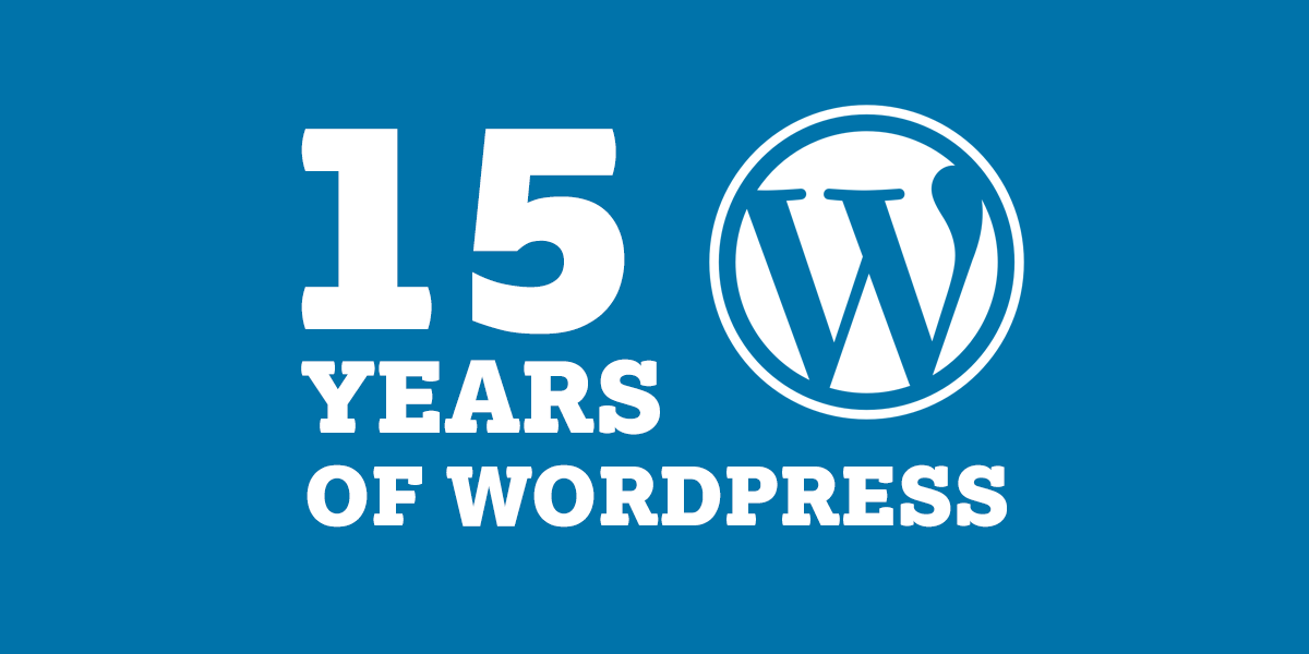 15 Years of WordPress